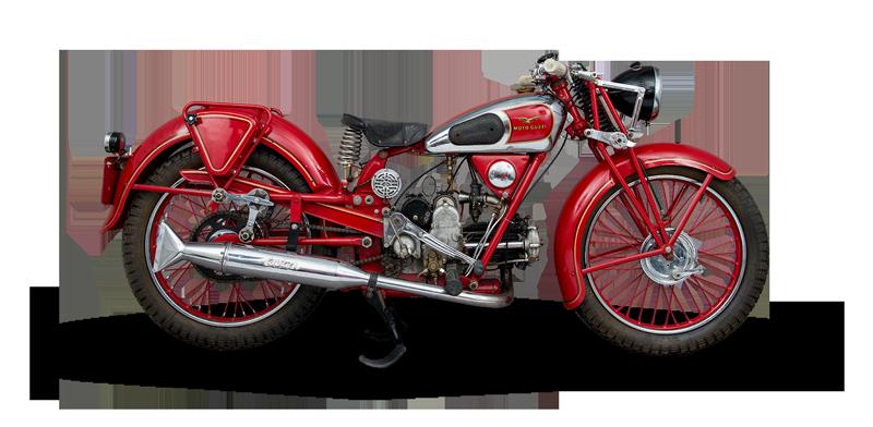 Moto Guzzi, restaurée par ALCE
